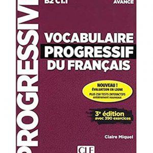 کتاب Vocabulaire progressif du Francais avance