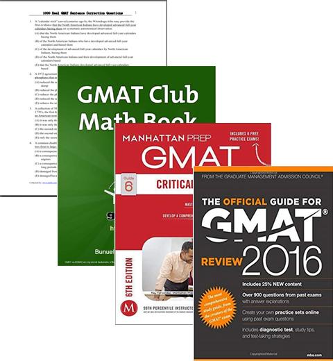 پکیج آزمون جیمت - GMAT Prepration Package