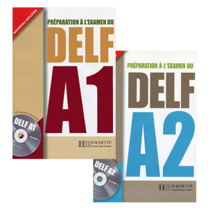 پکیج آزمون فرانسه Preparation al examen du DELF Package