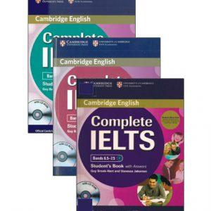 مجموعه کتاب های Complete IELTS از انتشارات Cambridge