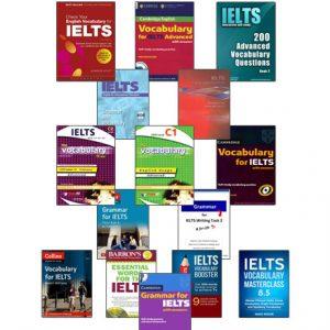 دانلود پکیج جامع گرامر و لغت ویژه آزمون IELTS