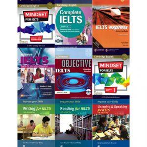 دانلود مجموعه کتاب های آمادگی برای آزمون IELTS سطح متوسط