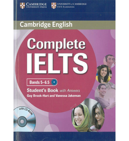 کتاب Cambridge_Complete IELTS Band 5-6.5