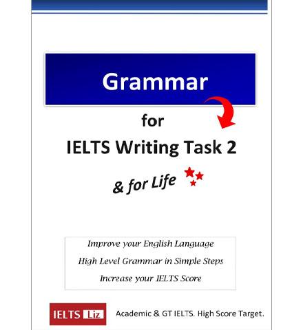 دانلود کتاب IELTS Liz_Grammer For IELTS Writing