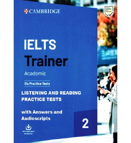 دانلود کتاب Cambridge IELTS Trainer 2