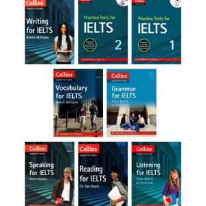 پکیج منابع آزمون IELTS انتشارات Collin's