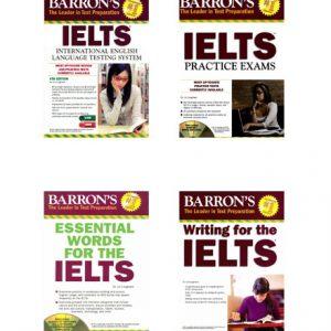 پکیج آزمون IELTS انتشارات Barron's