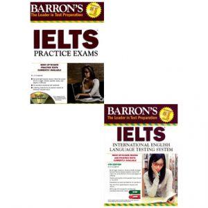 دانلود پکیج آزمون های آزمایشی Barron's