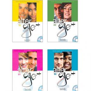 دانلود مجموعه کتاب های Alter Ego+ از انتشارات Hachette