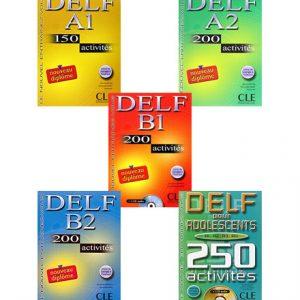 دانلود مجموعه کتاب های Delf Activities از انتشارات CLE International