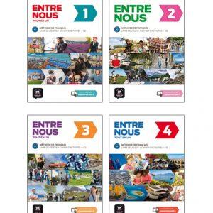 دانلود مجموعه کتاب های Entre Nous از انتشارات Maison des Langues
