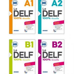 دانلود مجموعه کتاب های Le Delf 100% Reussite از انتشارات Didier