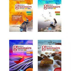 دانلود مجموعه کتاب های Nouvelle Grammaire Pratique Plus از انتشارات CEC