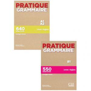 دانلود مجموعه کتاب های Pratique Grammaire از انتشارات CLE International