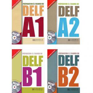 دانلود مجموعه کتاب های Preparation a L'Examen Du DELF از انتشارات Hachette