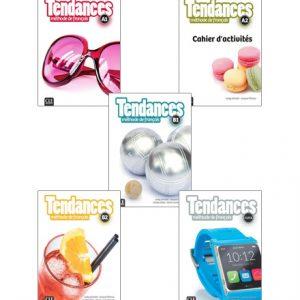 دانلود مجموعه کتاب های Tendances از انتشارات CLE International