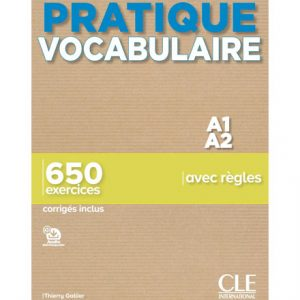 دانلود کتاب Pratique Vocabulaire A1-A2