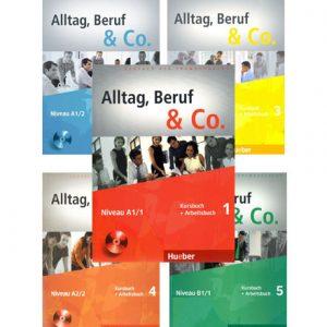 دانلود فایل کتاب های Alltag, Beruf Co
