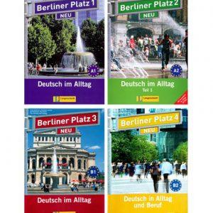 دانلود پکیج PDF زبان آلمانی Berliner Platz Neu
