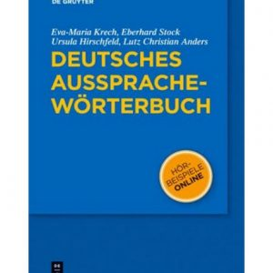 دانلود PDF کتاب فرهنگ لغت آلمانی Deutsches Aussprachewörterbuch