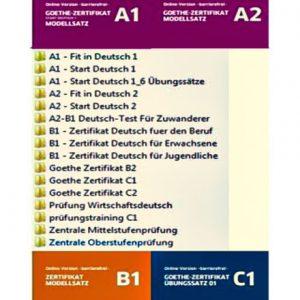 دانلود PDF کتاب آلمانی Goethe Zertifikat Modellsätze A1-C2
