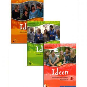دانلود پکیج PDF کتاب آموزش آلمانی Ideen