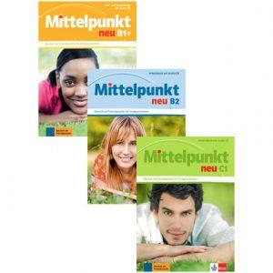 دانلود پکیج PDF کتاب آموزش آلمانی Mittelpunkt Neu