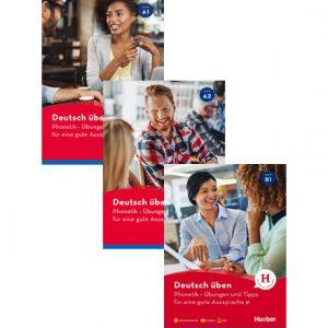 دانلود پکیج PDF کتاب Phonetik – Übungen und Tipps für eine gute Aussprache