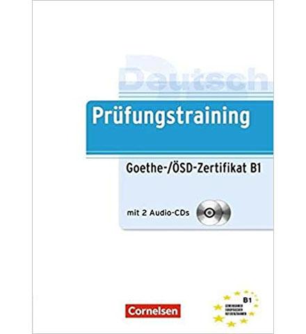 دانلود فایل کتاب Prüfungstraining Goethe, ÖSD B1