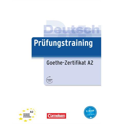 دانلود فایل کتاب Prüfungstraining Goethe-Zertifikat A2