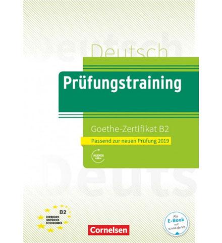 دانلود فایل کتاب Prüfungstraining Goethe-Zertifikat_B2 2019