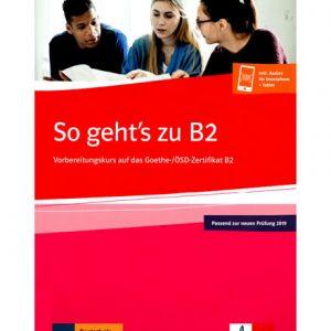 دانلود فایل کتاب آلمانی So Geht's zu B2