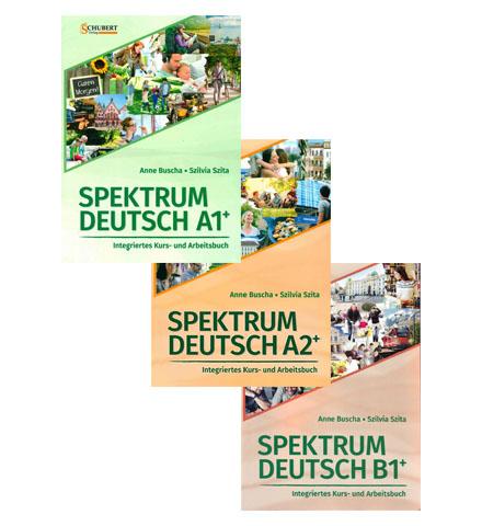 دانلود پکیج PDF کتاب آلمانی Spektrum