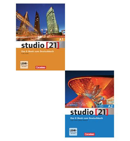 دانلود پکیج PDF کتاب آلمانی Studio 21