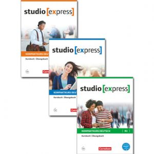 دانلود پکیج PDF کتاب آموزش آلمانی Studio Express