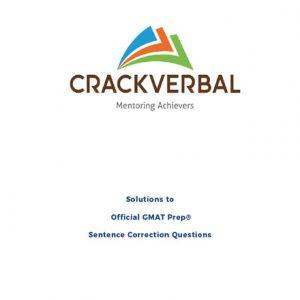 فایل کتاب Crack Verbal Solutions to Official GMAT Sentence Correction Questions