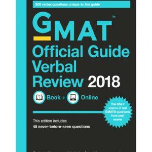 فایل کتاب GMAT - Official Guide 2018 Verbal Review