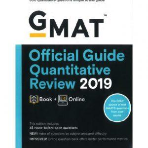 فایل کتاب GMAT - Official Guide 2019 Quantitative Review