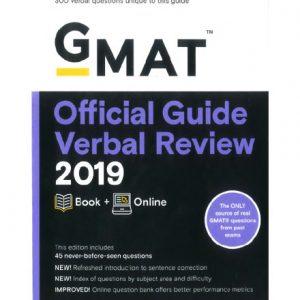فایل کتاب GMAT - Official Guide 2019 Verbal Review