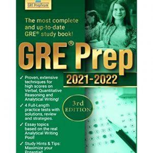 فایل کتاب GRE Prep Team 2021-2022 complete practice test