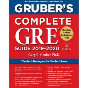فایل کتاب Gruber's Complete GRE Guide 2019-2020 by Gary Gruber