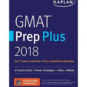 فایل کتاب Kaplan GMAT Prep Plus 2018