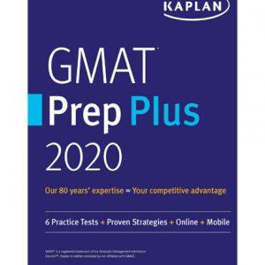 فایل کتاب Kaplan GMAT Prep Plus 2020