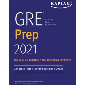 فایل کتاب Kaplan GRE Prep 2021 Practice Tests