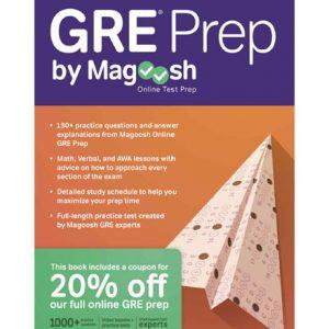 فایل کتاب Magoosh GRE Prep by Magoosh