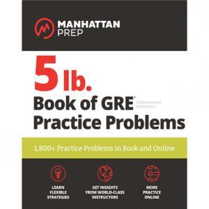 فایل کتاب Manhattan Prep 5 Lb. Book of Gre Practice Problems