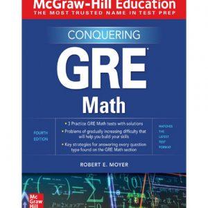 فایل کتاب McGraw-Hill Education Conquering GRE Math-McGraw-Hill Education (2020)
