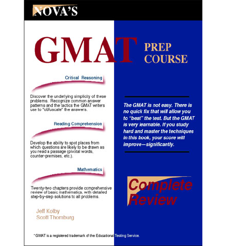 فایل کتاب NOVA's - GMAT Prep Course