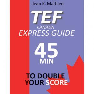 فایل کتاب TEF Canada Guide Express 45min to double your score
