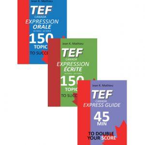 پکیج فایل کتاب های TEF Canada